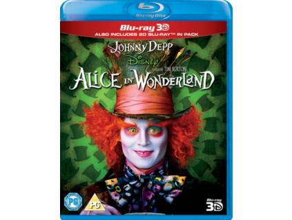 Alice In Wonderland La 3D (Blu-ray 3D)