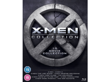 X-Men 1-10 Movie Collection (Blu-ray)