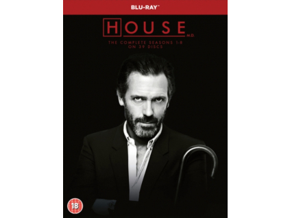 House Md Seasons 18 (Blu-ray Box Set)