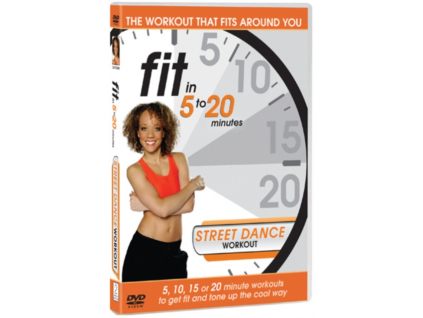 Fit In 5 To 20 Minutes Street Dance Workout (DVD)