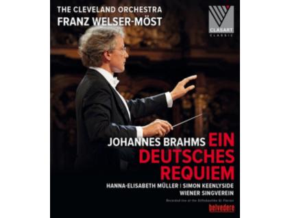 CLEVELAND OR  WELSERMOST - Brahms  German Requiem (Blu-ray)