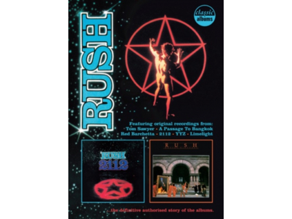 RUSH - 2112 Moving Pictures Classic Albums (DVD)