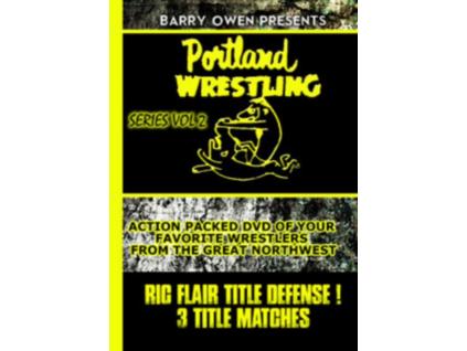 VARIOUS ARTISTS - Barry Owen Presents Best Of Portland Wrestling Vol2 (DVD)