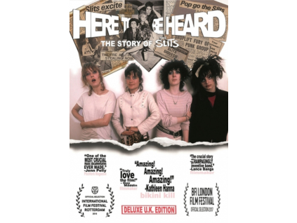 SLITS - Here To Be Heard: The Story Of The Slits (Deluxe Edition) (DVD)