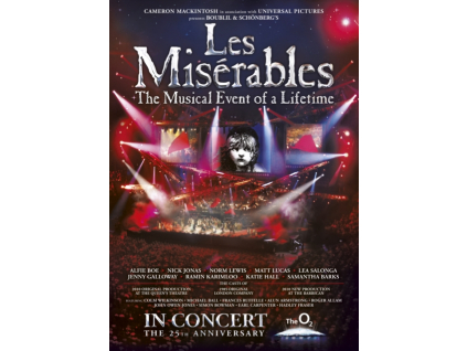 ORIGINAL CAST RECORDING - Les Miserables 25Th Anniversary In Concert (DVD)