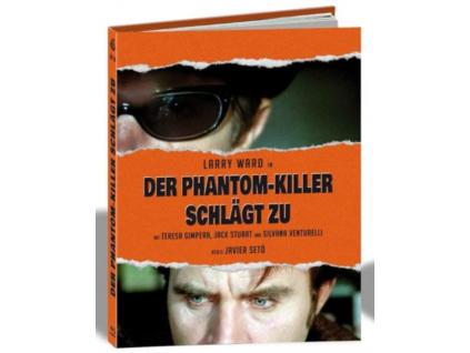 JAVIER SETO - L Assassino Fantasma (Limited Mediabook) (Blu-ray)