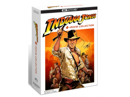 Indiana Jones 4-Movie Collection (Blu-ray 4K)