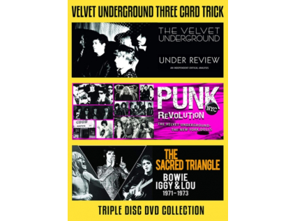 VELVET UNDERGROUND - Three Card Trick (DVD)