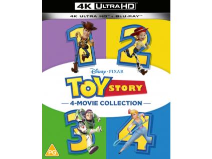 Toy Story 1-4 (Blu-ray 4K)
