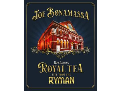JOE BONAMASSA - Now Serving: Royal Tea Live From The Ryman (DVD)