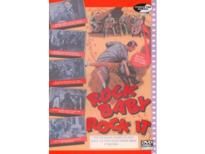 VARIOUS ARTISTS - Rock Baby Rock It (DVD)