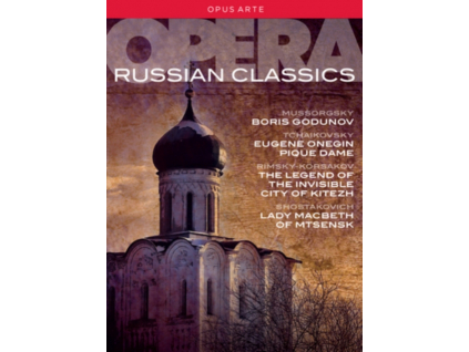 VARIOUS ARTISTS - Russian Opera Classics Box (DVD)
