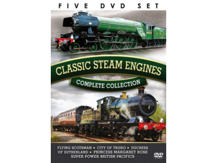Complete Collection: Classic Steam Engines (DVD)