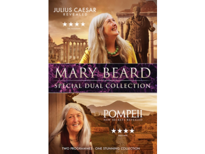Mary Beard Special Dual Collection - Julius Caesar Revealed & Pompeii New Secrets Revealed (DVD)