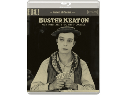 Buster Keaton: Our Hospitality / Go West / College (Masters Of Cinema) Standard Edition (Blu-ray)