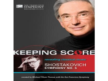 SFS/THOMAS - Shostakovich/Symphony 5 (DVD)