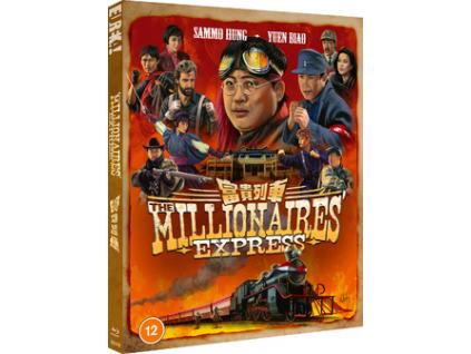 Millionaires Express. The [Foo Gwai Lip Che] (Eureka Classics) Limited Edition (Blu-ray)