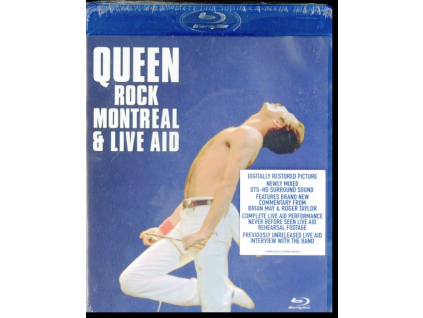 QUEEN - Rock Montreal & Live (Blu-ray)
