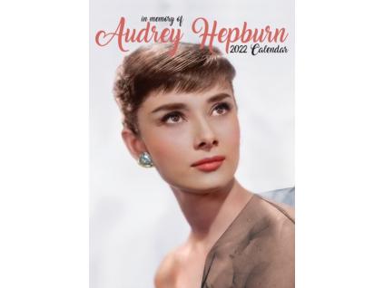 Audrey Hepburn - 2022 kalendář A3