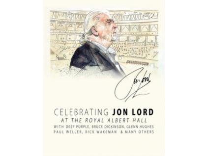 VARIOUS ARTISTS - Celebrating Jon Lord The Rock Legend (Blu-ray)