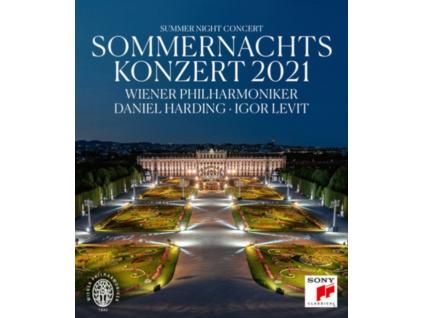 DANIEL HARDING & WIENER PHIL-HARMONIC - Summer Night Concert 2021 (Blu-ray)