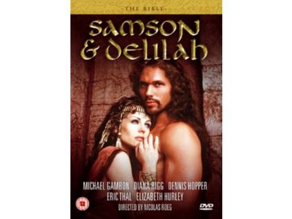 The Bible - Samson And Delilah DVD