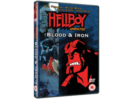 Hellboy Animated - Blood And Iron DVD