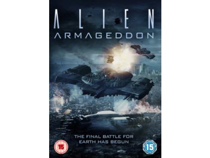 Alien Armageddon DVD