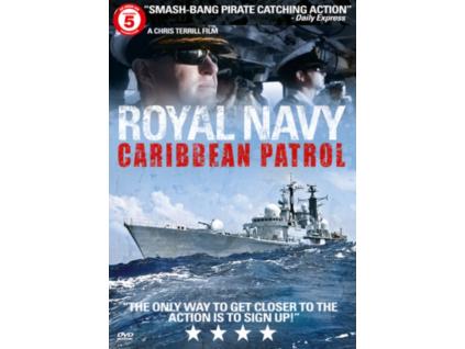 Royal Navy Caribbean Patrol DVD
