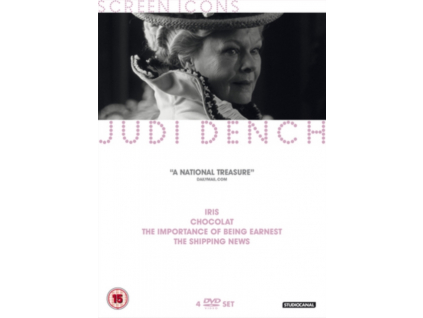 Judi Dench - Chocolat / Iris / The Importance Of Being Earnest / The Shipping News DVD