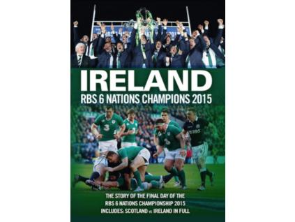 Ireland RBS 6 Nations Champions 2015 DVD