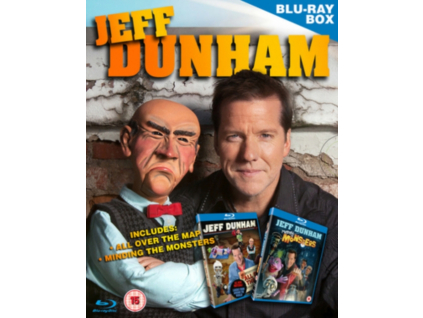 Jeff Dunham - Minding The Monsters / All Over The Map Blu-Ray