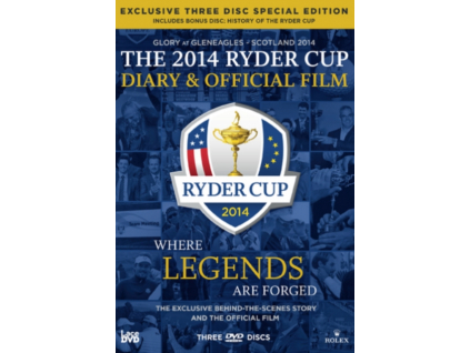 The 2014 Ryder Cup Diary And Official Film Special Edition DVD