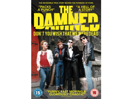 The Damned - Dont You Wish That We Were Dead DVD