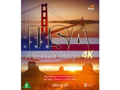 USA - A West Coast Journey In 4K Ultra HD