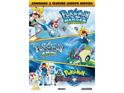 Pokemon - The Movie Collection (3 Films) DVD