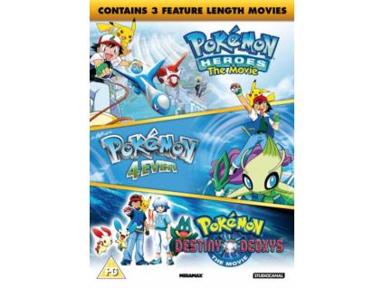 Pokemon - Triple Movie Big Pack DVD