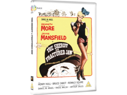 The Sheriff Of Fractured Jaw Blu-Ray + DVD