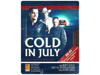 Cold In July Steelbook Blu-Ray