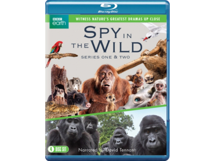 Spy in the Wild Series 1 to 2 Blu-Ray