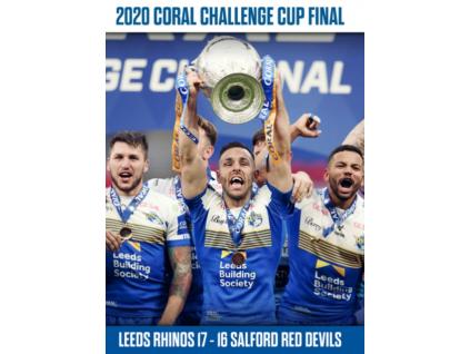2020 Coral Challenge Cup Final - Leeds Rhinos v Salford Red Devils DVD