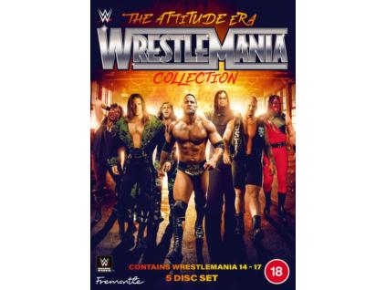 WWE - The Attitude Era Wrestlemania Collection DVD