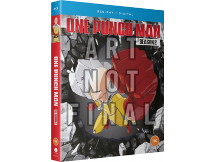 One Punch Man Season 2 Episodes 1 to 12 + 6 OVAs Blu-Ray