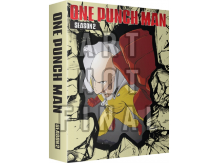 One Punch Man Season 2 Episodes 1 to 12 + 6 OVAs Limited Edition Blu-Ray