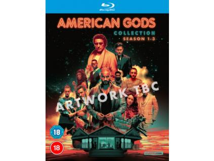 American Gods Seasons 1 to 3 Blu-Ray