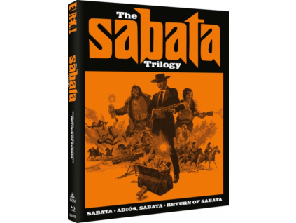 The Sabata Trilogy Limited Edition (With Slipcase + Booklet) Blu-Ray