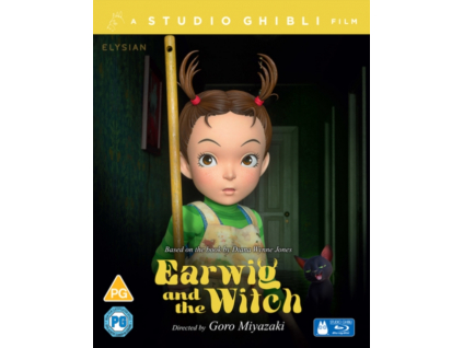 Earwig And The Witch Limited Collects Edition Blu-Ray + DVD