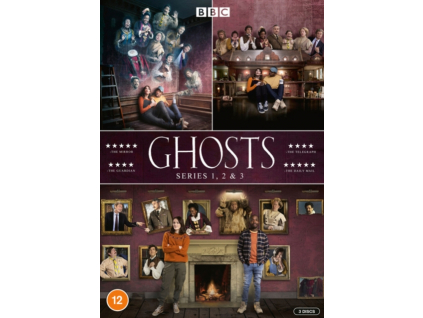 Ghosts Series 1 to 3 DVD