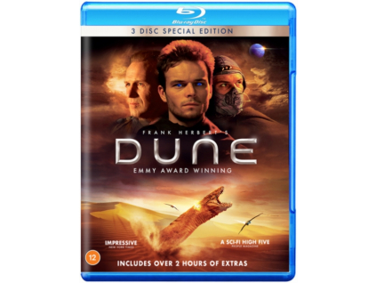 Dune - The Complete Mini Series (2000) Special Edition Blu-Ray