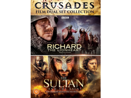 The Crusades Collection - Richard the Lionheart / Sultan and the Saint DVD